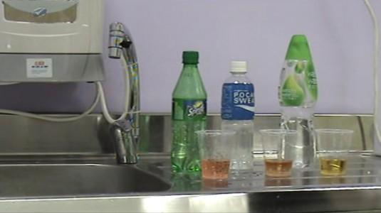 鹼性電解還原水:影像解說