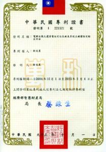 長壽村電解水機:專利及認証
